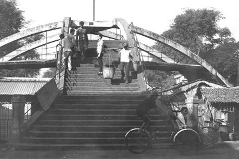 Cầu Ba Cẳng, chiếc cầu đưa sang ba nơi - 1
