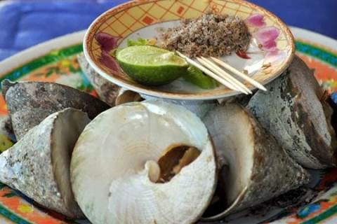Tổng hợp đặc sản Bà Rịa Vũng Tàu: Ốc vú nàng - Vietflavour