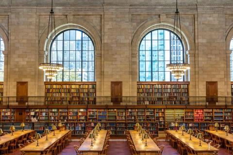 Phòng đọc Rose tại Thư viện Công cộng New York trên Đại lộ số 5