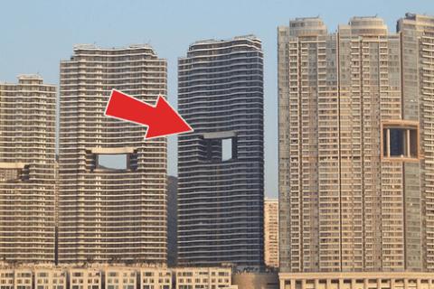 """Một phút khó hiểu: Tại sao các tòa nhà cao tầng ở Hong Kong lại hay có """"lỗ thủng"""" ở giữa vậy nhỉ? - Ảnh 1."""