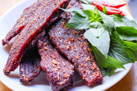 Thịt trâu gác bếp - Măng Rừng | Măng rừng món quà của mẹ thiên nhiên