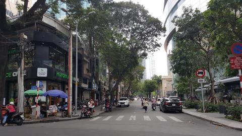 Cho thuê MB Hồ Tùng Mậu, Quận 1. DT 4,2 x 16m, giá 150 triệu/tháng