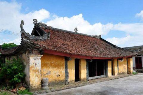 Cổ xưa ngôi đình làng 800 năm tuổi     Kiến thức xây dựng
