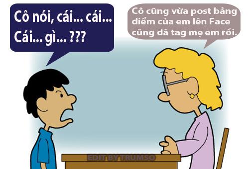 Học hành thời Facebook - VnExpress