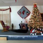 Clubhouse stage for Christmas