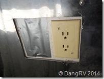 Outlet cutout