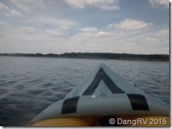 Kayaking Canyon Lake