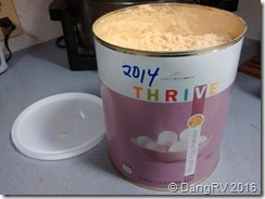 Thrive powdered eggs