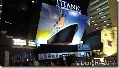 Titanic Museum in the Luxor Hotel