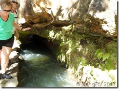 Hiking the irrigation ditch