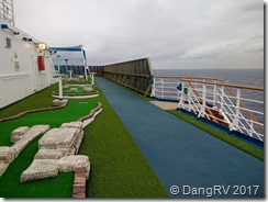 Carnival Miracle miniature golf