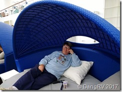 Carnival Miracle relaxation pods