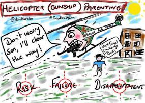 Helicopter Gunship Parenting