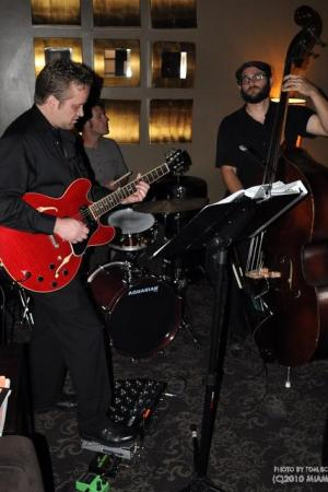 Playing at the Wine Loft, Nashville, TN
