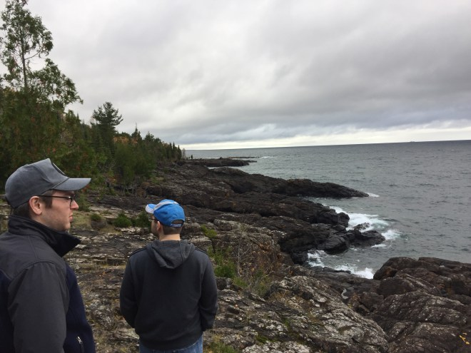 adventure on the Black Rocks on Presque Isle