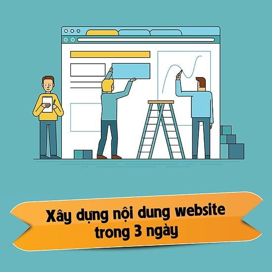 5 lý do nên tham gia khóa học Xây dựng nội dung website trong 3 ngày