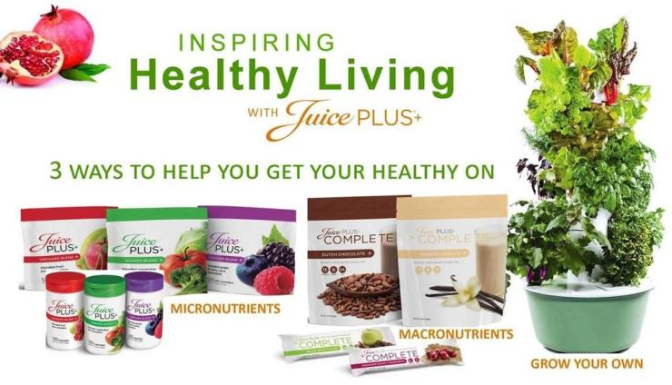 Products of Juice Plus