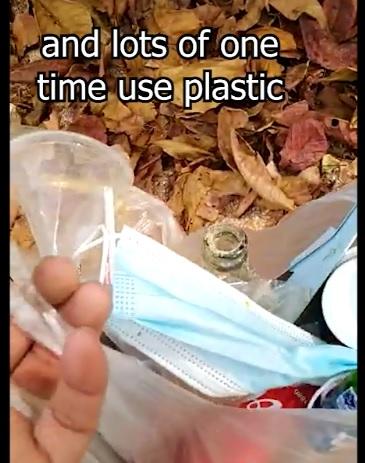 Beach Clean Up Face Mask litter