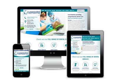 Copywriting, design support (for template development in conjunction with my coworker and managing typography site-wide and designing the user interface) along with development support for Longmeadow Family Dental Care, as part of the team at Icon Graphics. See it live!