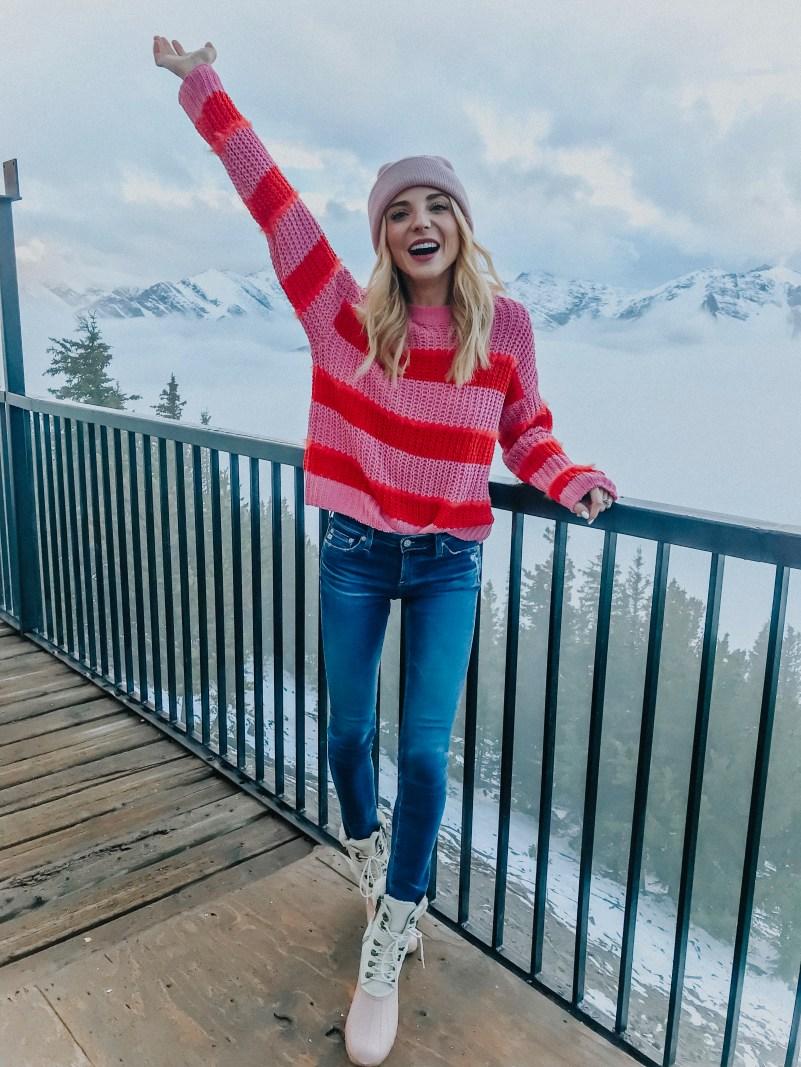 bershka stripe sweater