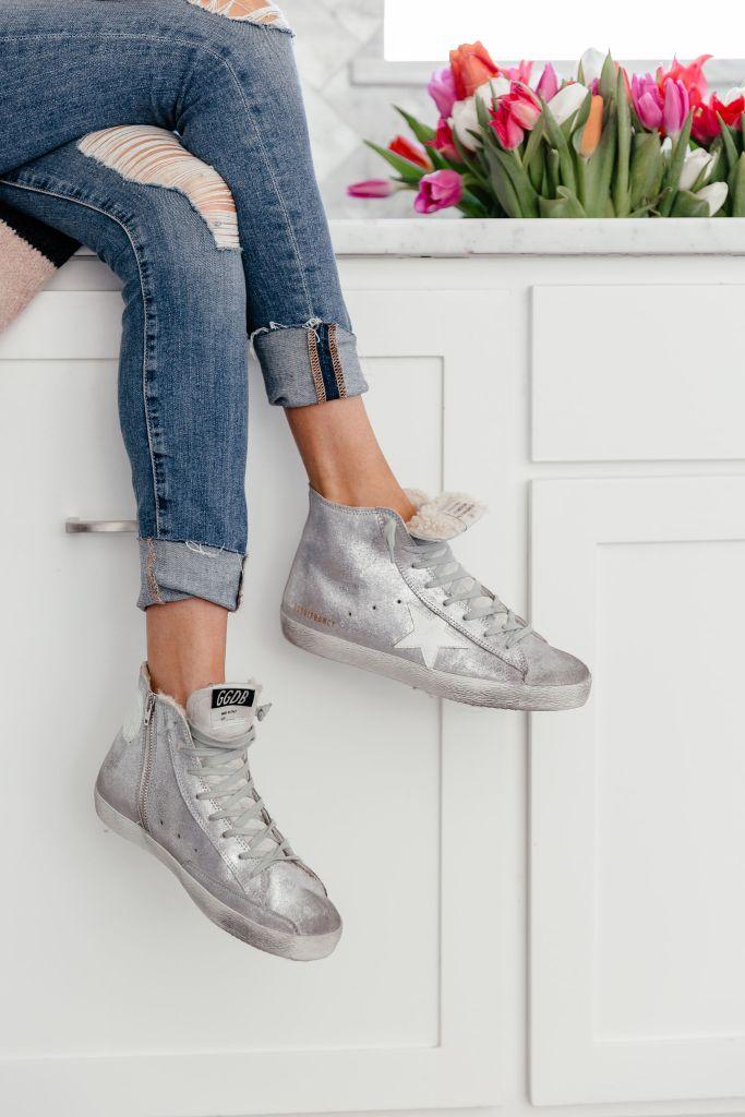 dani austin golden goose francy sneakers
