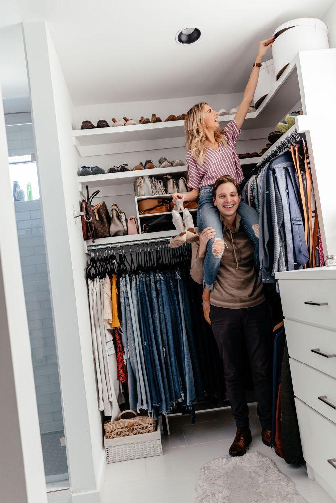 dani austin closet organization tips