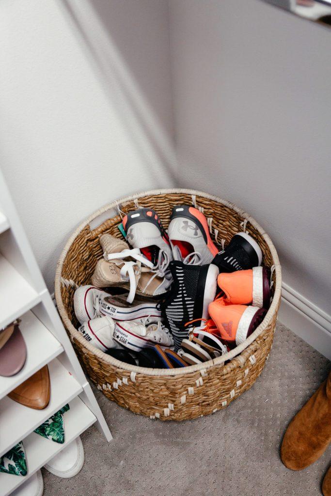 closet organization shoe storage ideas dani austin