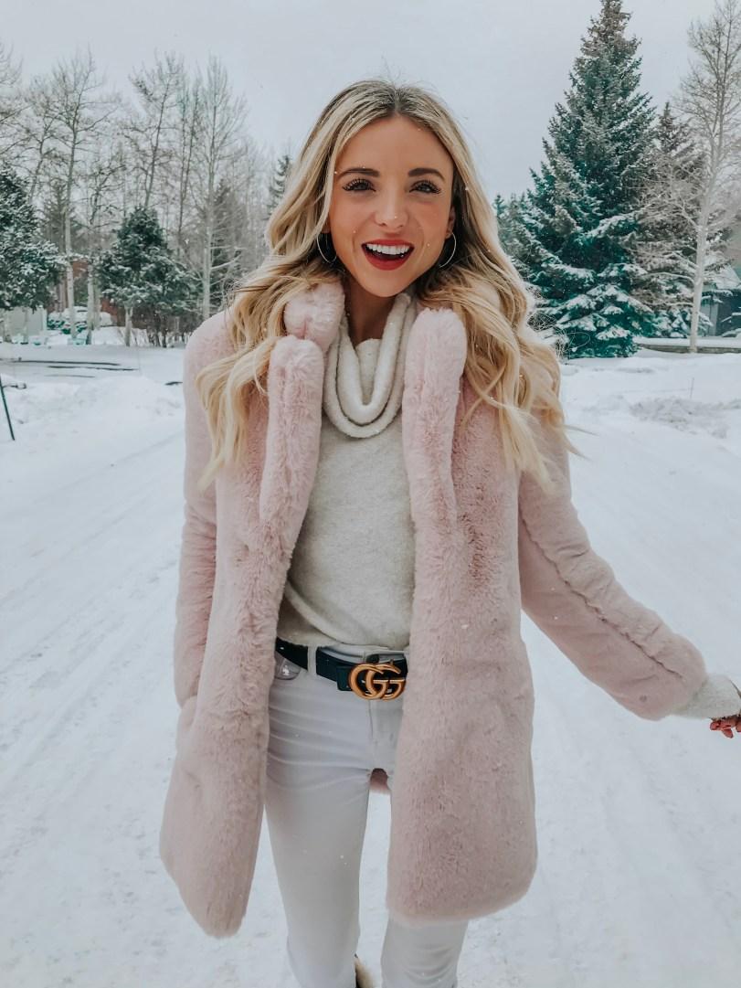 dani austin colorado trip winter outfit