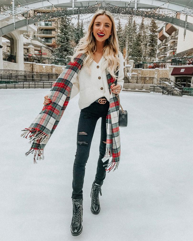 dani austin winter outfit ideas colorado 2018