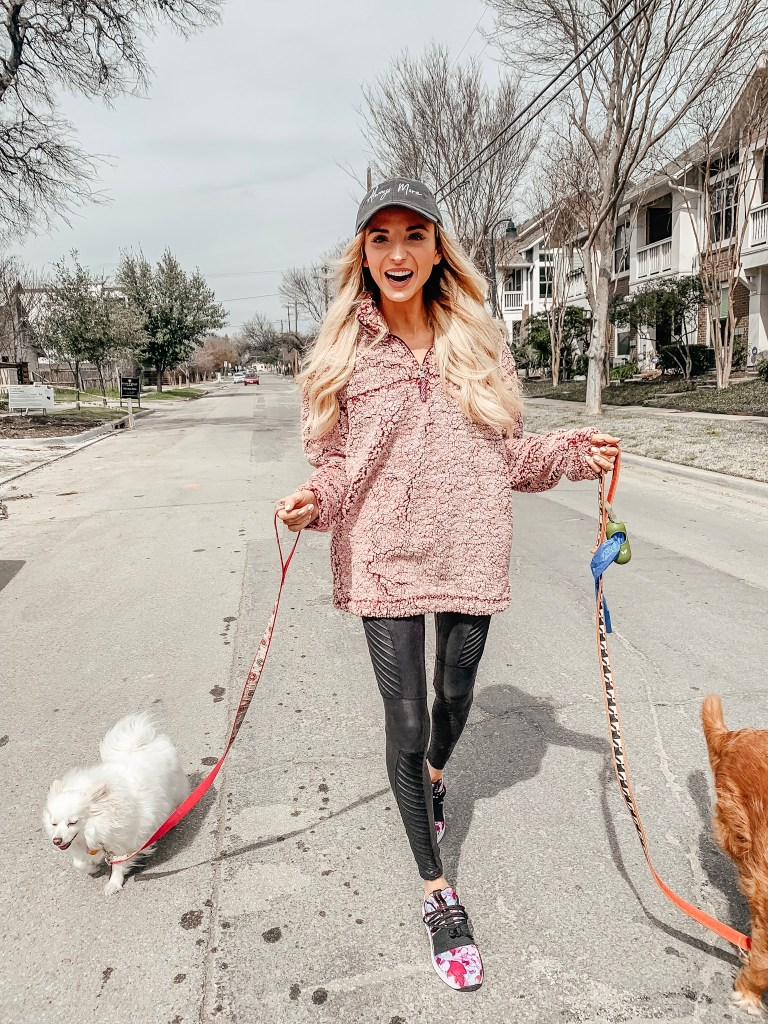 dani austin dog walking