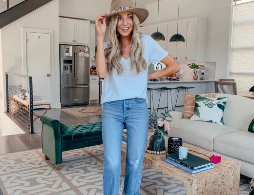 treasure and bond wool hat levis jeans