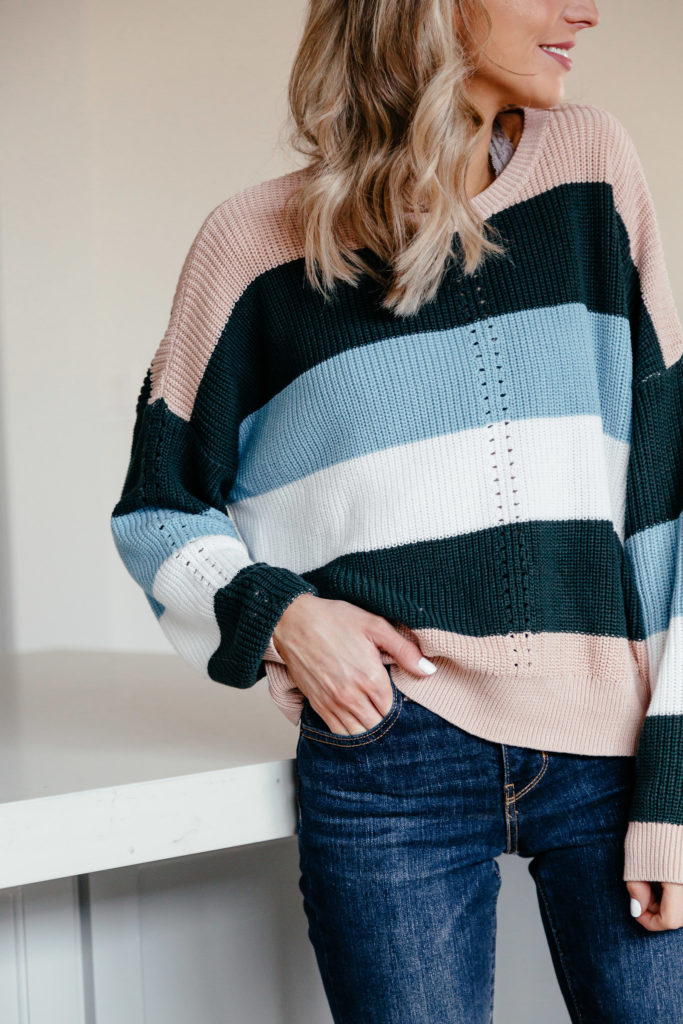 Rent vs Buy House Dani Austin Striped Sweater1