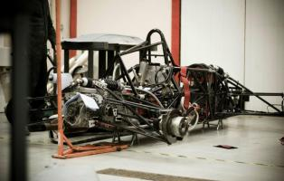 Body panels removed