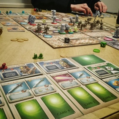 We played Arcadia Quest!