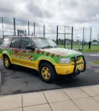 Geekmania Gloucester Jurassic Park jeep