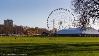 in Hyde Park, London