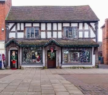 Christmas shop in Stratford-upon-Avon