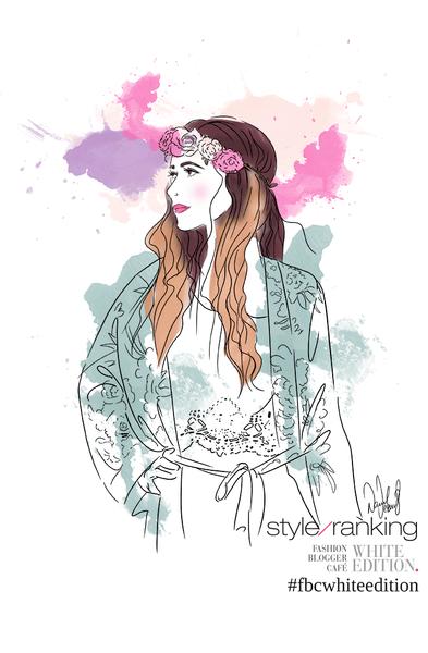 Live-drawing Fashion Illustration von Strasskind.