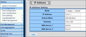 Trocando o IP