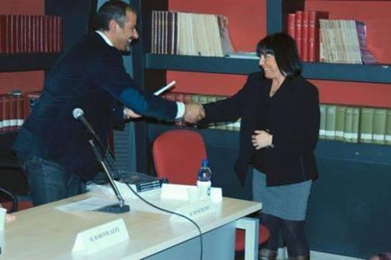 """Roma, Casa della Memoria. Premiazione del concorso letteraio nazionale La Memoria. Sono tra i finalisti con il mio racconto """"I Suoi Passi leggeri"""""""