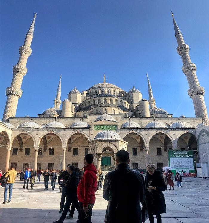 interior moscheea albastra istanbul daniela bojinca blog