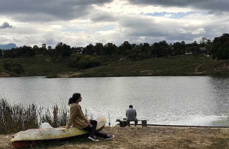 lacul sarat ocna sugatag maramures work and trave