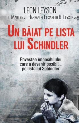 un baiat pe lista lui schindler cartea din autobuz evrei holocaust leon leyson hitler daniela bojinca blog