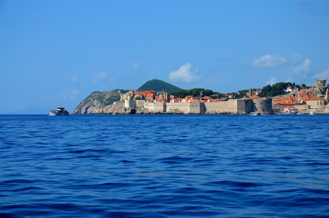 passeio de barco - dubrovnik - croácia - pontos - turísticos