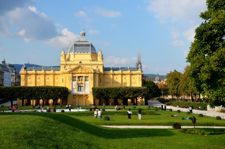 Teatro Nacional Croata - Zagreb -Croácia