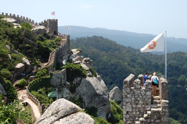 castelo dos mouros - sintra - portugal