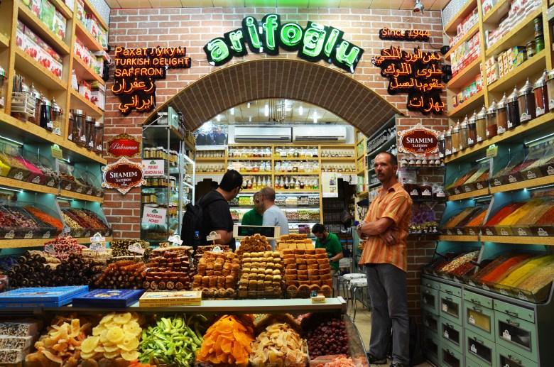 Bazar das Especiarias - istambul - turquia