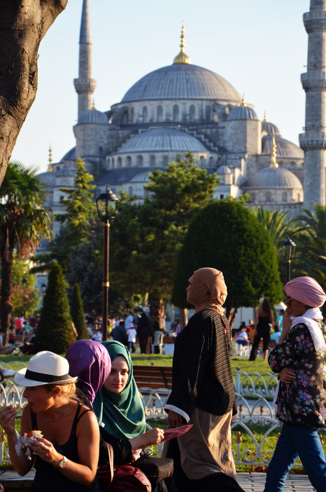 Mesquita Azul - Hagia Sofia - Istambul - Turquia