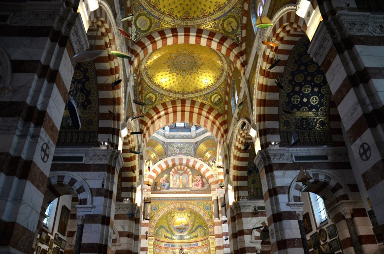 Basilique Notre Dame de La Garde - marselha - frança