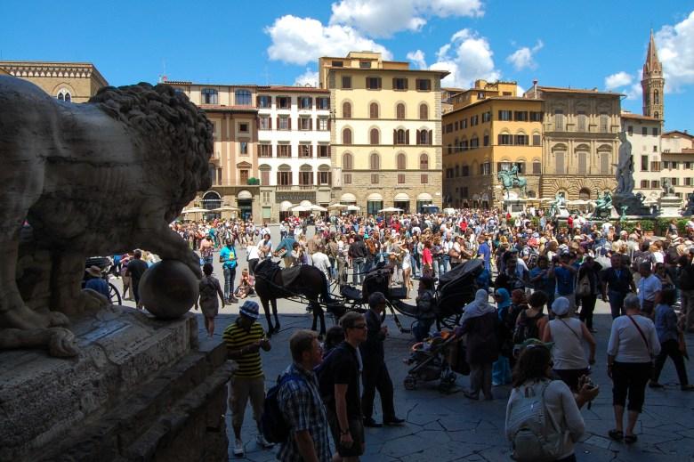 piazza della signoria - florença - toscana - italia - turismo
